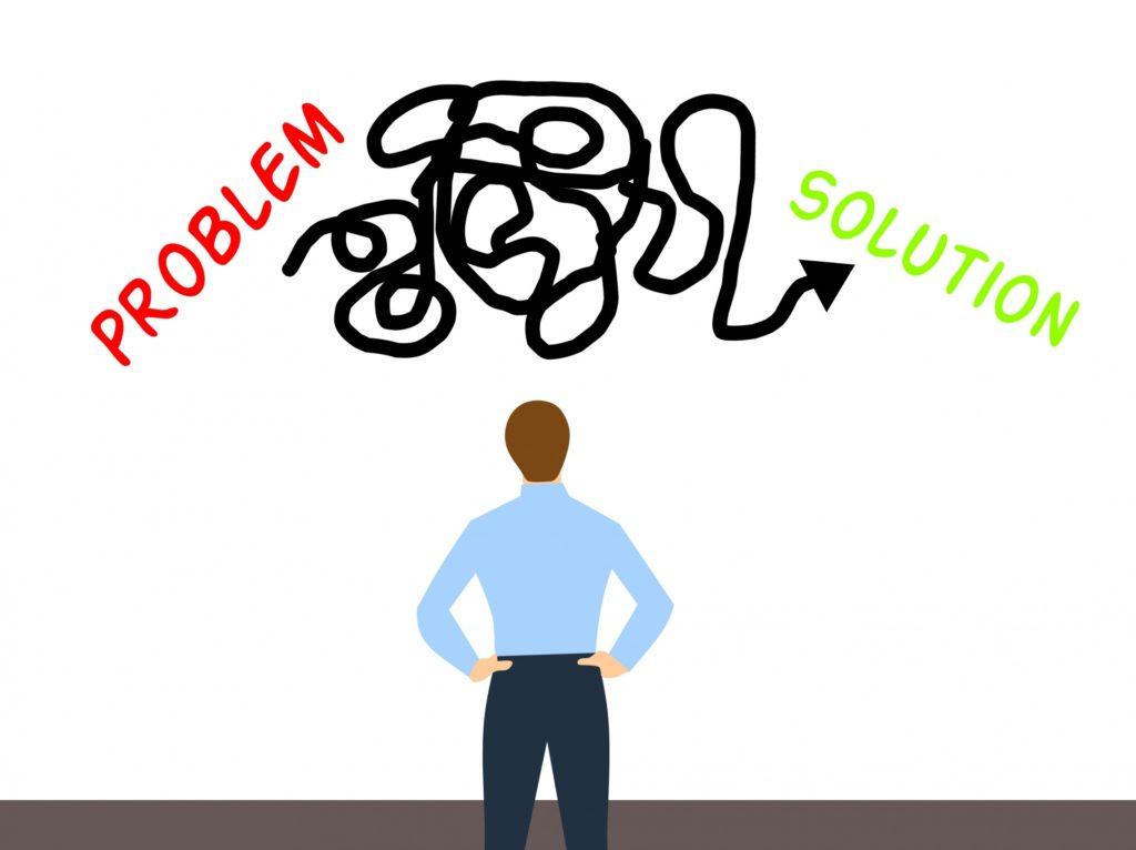 問題を自分で解決する